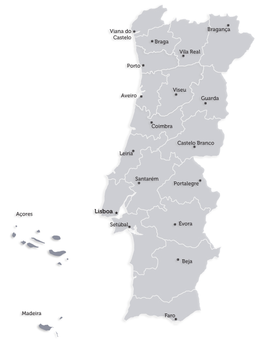 portugal continental e ilhas mapa Associação Portuguesa de Hemofilia – Quantos somos portugal continental e ilhas mapa